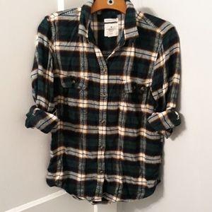 AE slim fit flannel